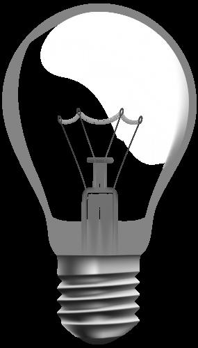 Clip Art Transparente De La Bombilla Png Light Bulb Bulb Transparent