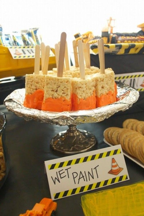Construction Themed Second Birthday Party
