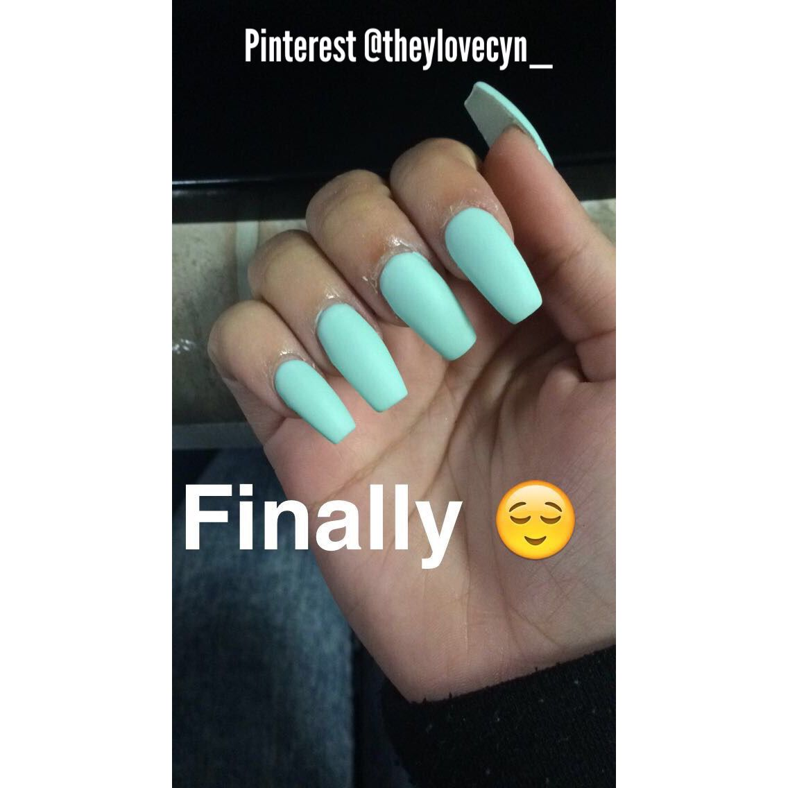 Hey girls wanna see more ? Follow my Pinterest @theylovecyn_   Nails ...