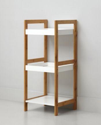 Urban Living 3 Tier Shelf White Pvc Furniture Plans Shelves