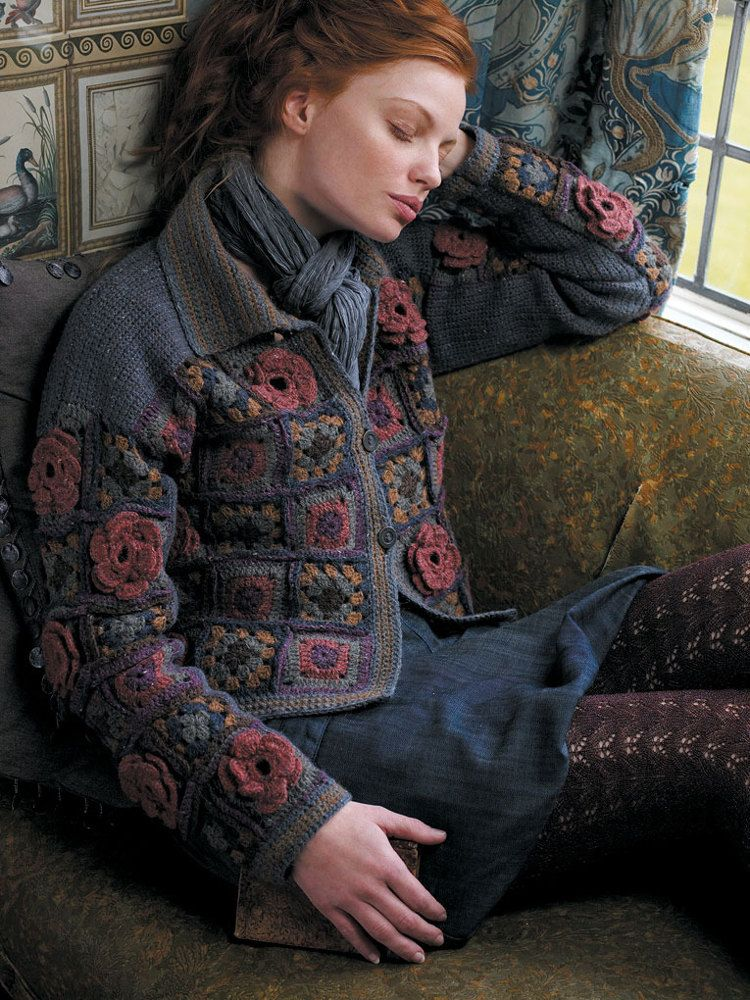 Rona in Rowan Felted Tweed | Knitting Patterns | LoveKnitting