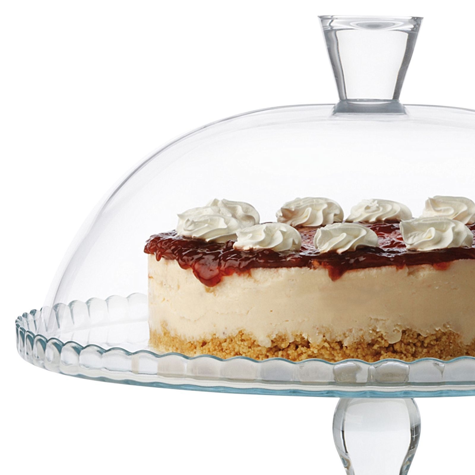 Maxwell and Williams footed Cake Dome with Lid
