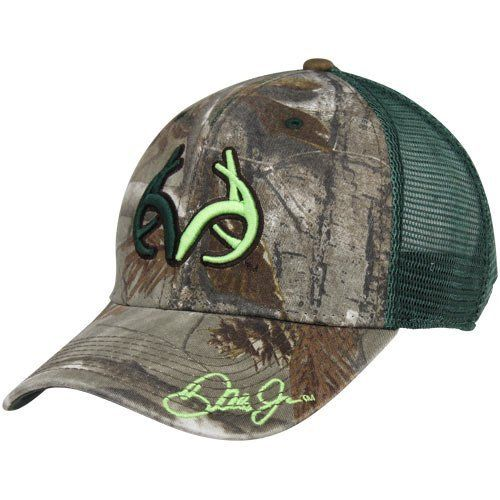 REALTREE Outfitters Dale Earnhardt, Jr. Hat by The Game. $24.95. The Game Dale Earnhardt Jr. RTO Trucker Hat - Camo/GreenOfficially licensed NASCAR productImportedQuality embroidery65% Cotton/35% PolyesterMesh backUnstructured fitOne size fits mostAdjustable plastic snap strap65% Cotton/35% PolyesterUnstructured fitQuality embroideryMesh backAdjustable plastic snap strapOne size fits mostImportedOfficially licensed NASCAR product