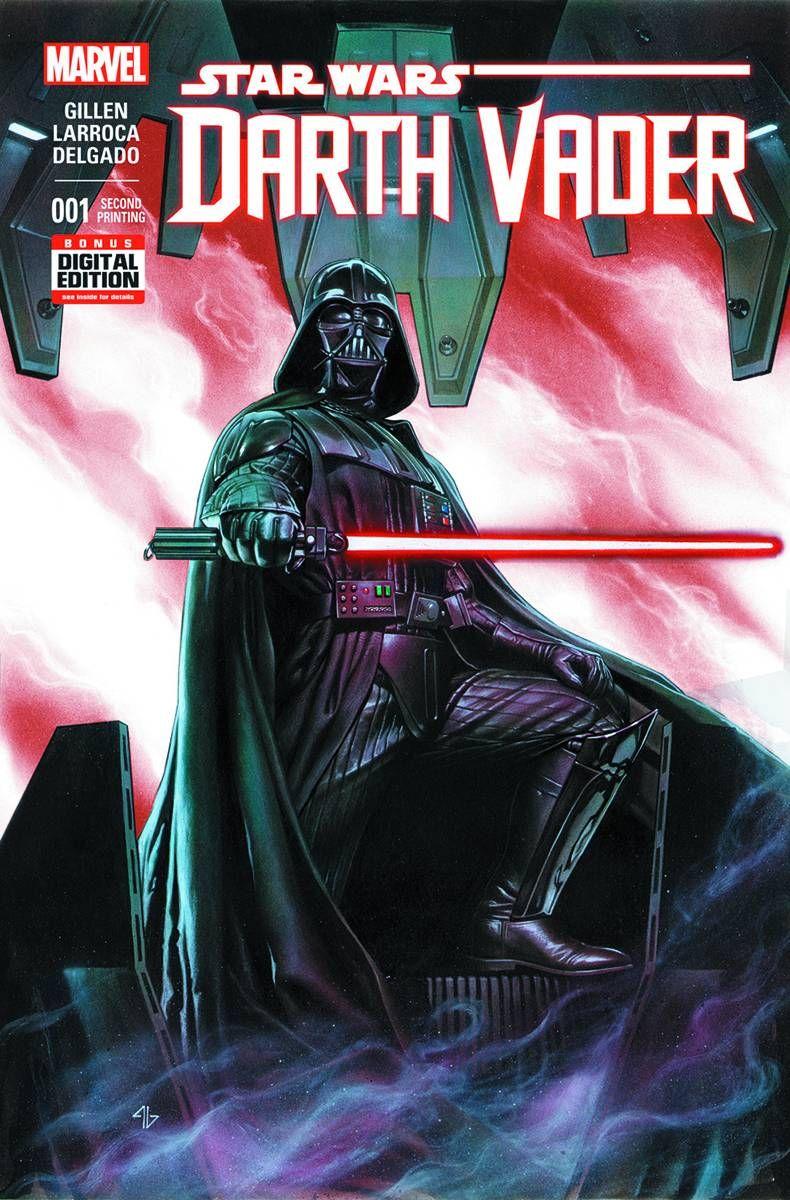 2nd printing variant cover by adi granov star wars comic