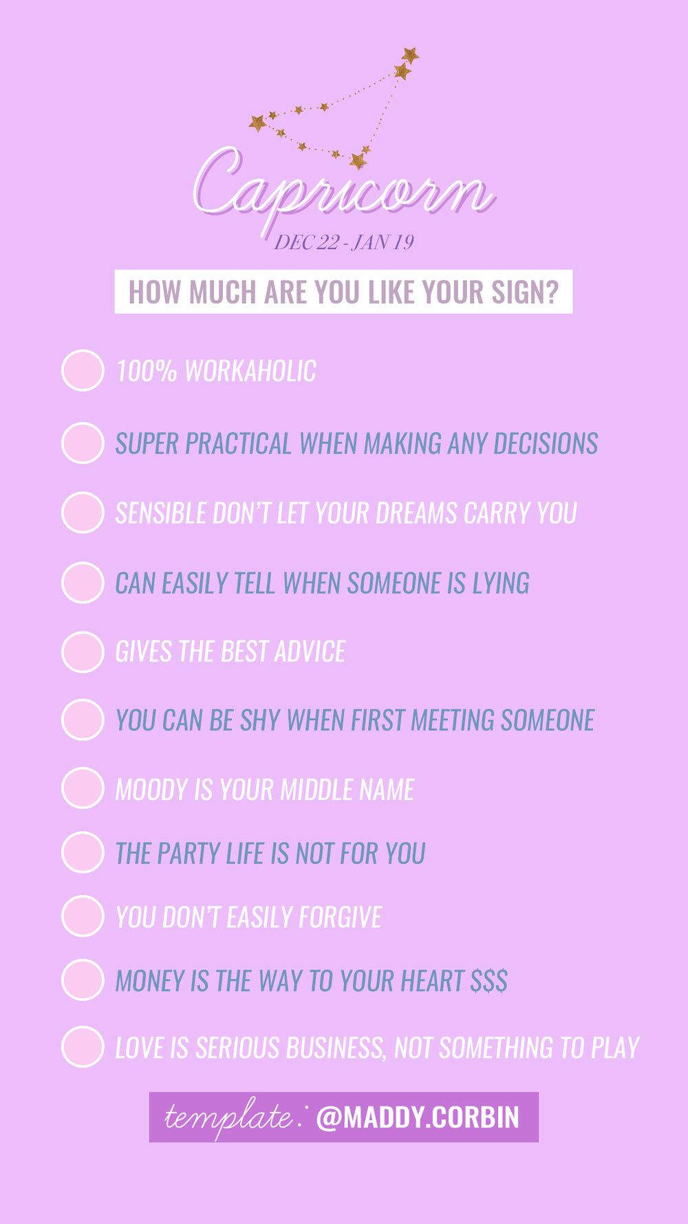 Instagram Story Template By Maddy Corbin How Much Are You Like