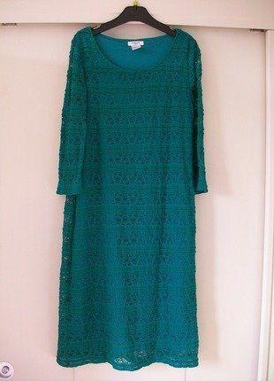 103a6b8a8ade4 À vendre sur  vintedfrance ! http   www.vinted.fr mode-femmes robes-dentelle  28208317-robe-dentelle-vert-menthe-la-redoute
