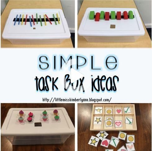 Simple task box and