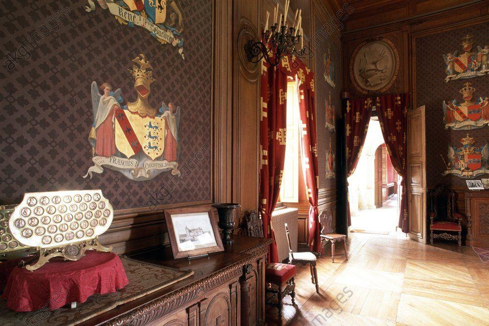 Château de Fléville Héraldique française Pinterest En passant