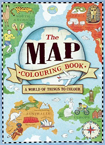the map coloring book by natalie hughes httpwwwamazoncom - Map Coloring Book