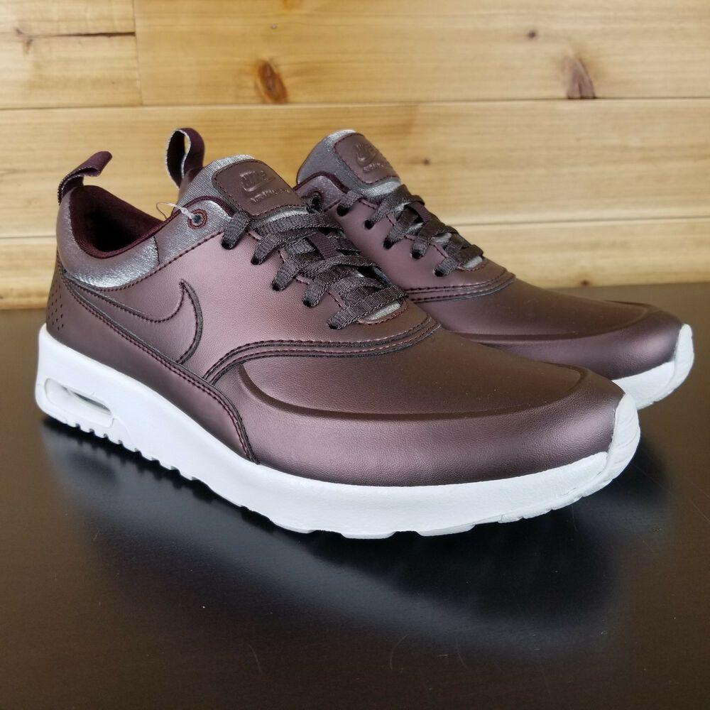 Nike Air Max Thea Premium Metallic Mahogany Women's Size 8