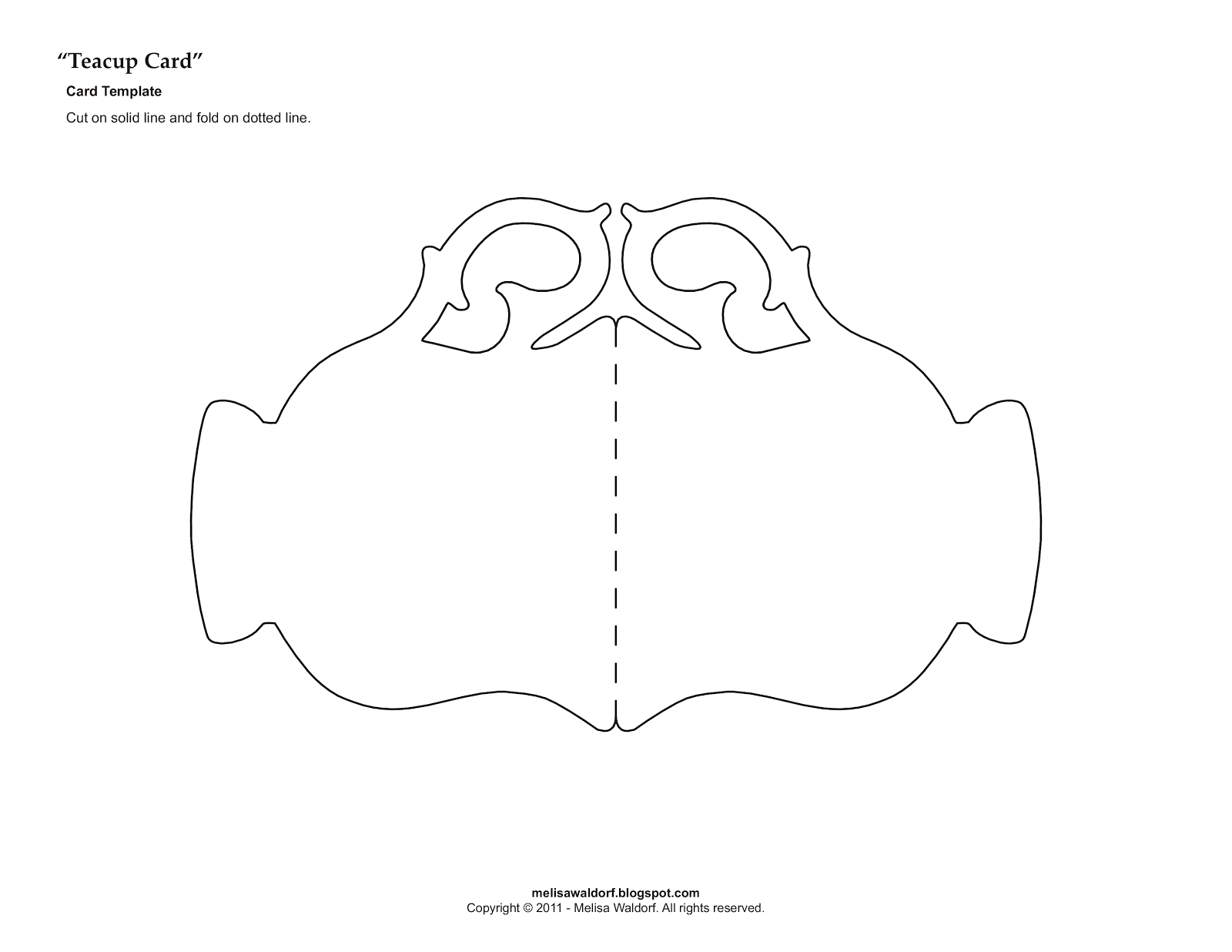 template for tea cup teacup magnolia projects to try