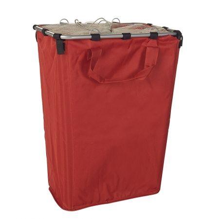Howards Storage World Large Red Laundry Hamper