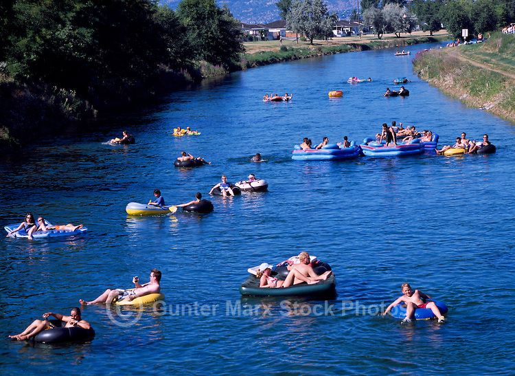 Floating On The Okanagan River Channel Penticton Bc South Okanagan Valley British Columbia Canada Places To Go Discover Canada Places To Visit
