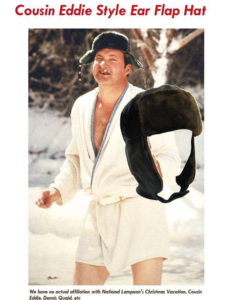 Adult Unisex Christmas Vacation Cousin Eddie White Robe and Belt Costume Set