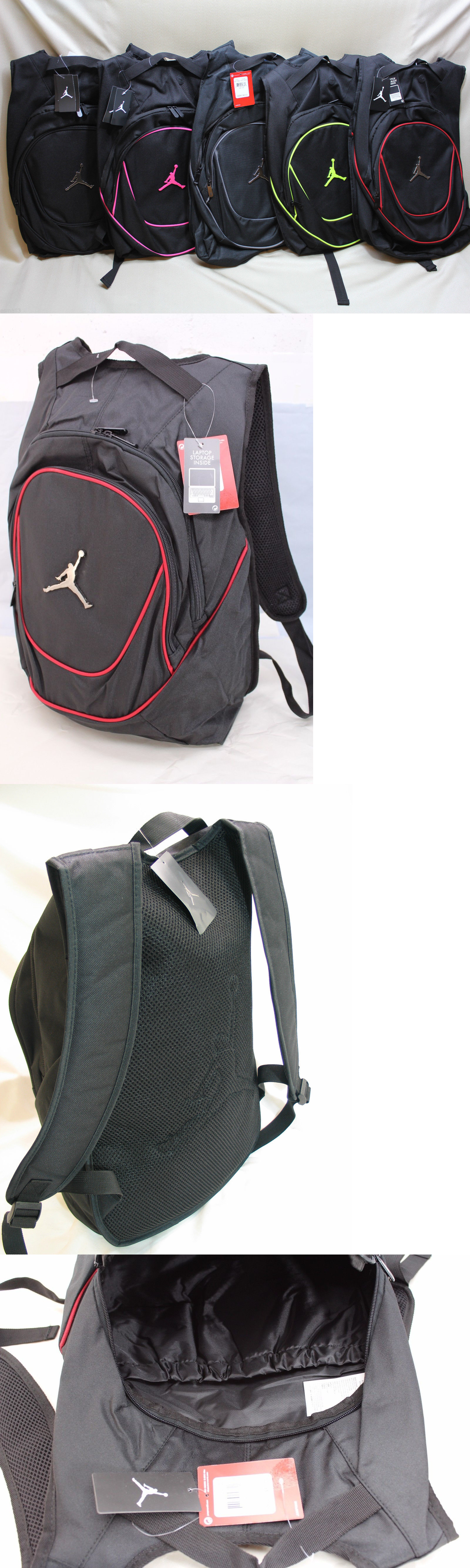 816e1fe96b5 Bags and Backpacks 163537: Nike Air Jordan Jumpman Laptop School Gym Hiking  Daypack Backpack Variations -> BUY IT NOW ONLY: $40.95 on eBay!