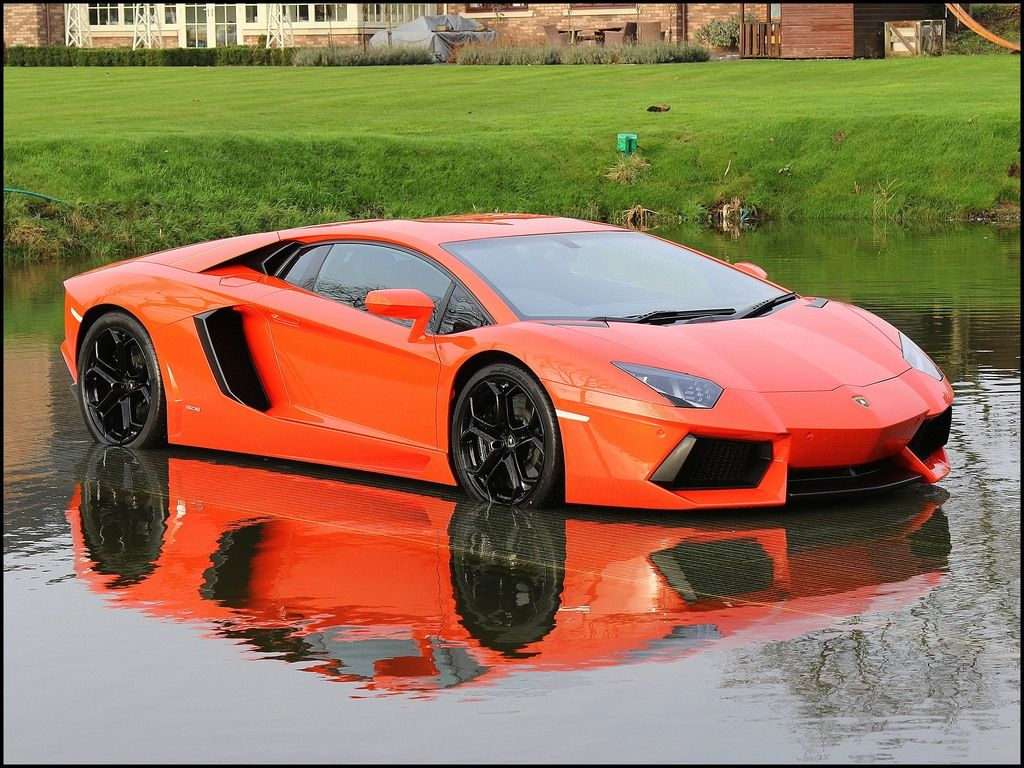 2011 LAMBORGHINI Aventador LP 700-4 Volcano Orange with ...