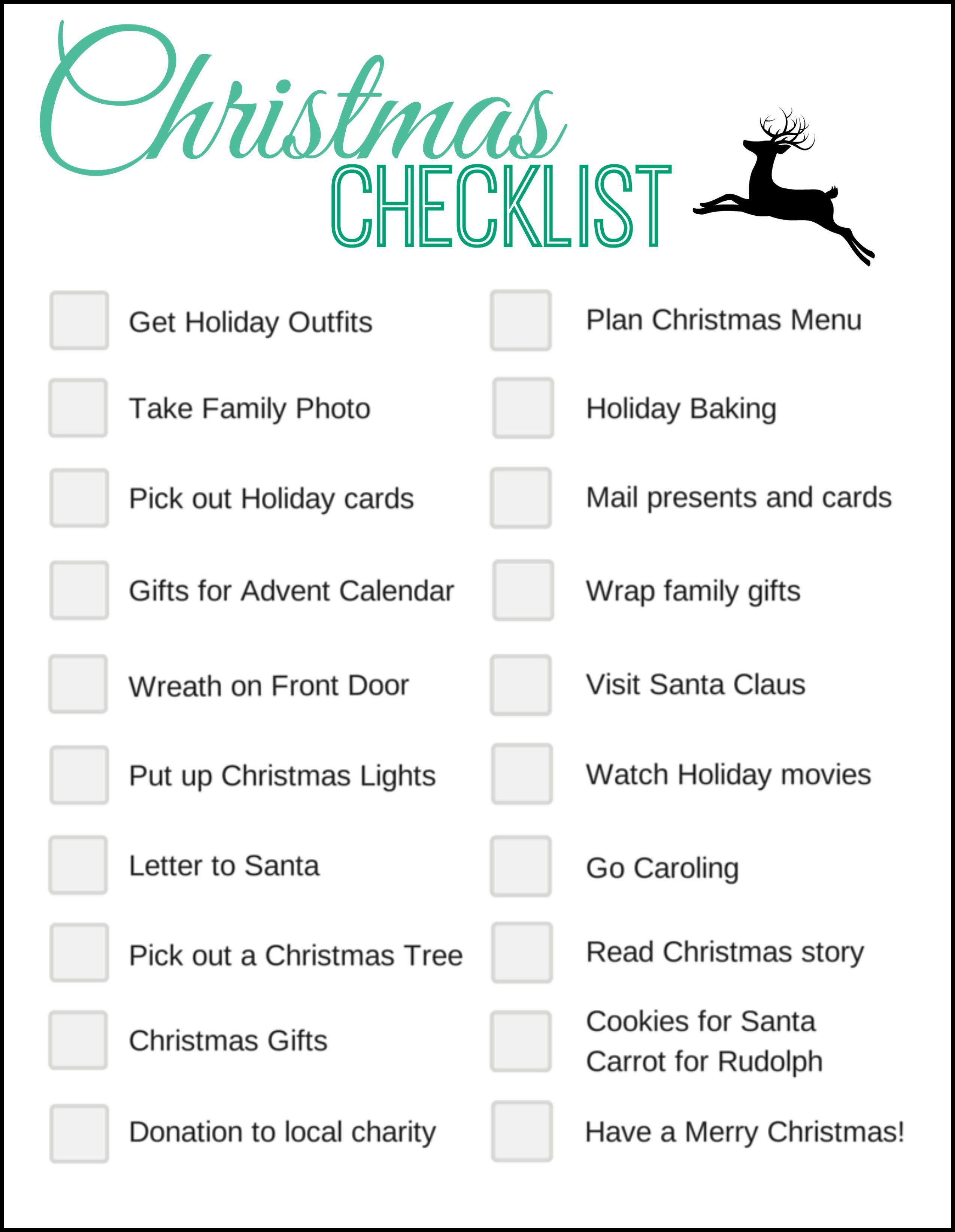 Pinterest The worlds catalog of ideas – Christmas Preparation Checklist