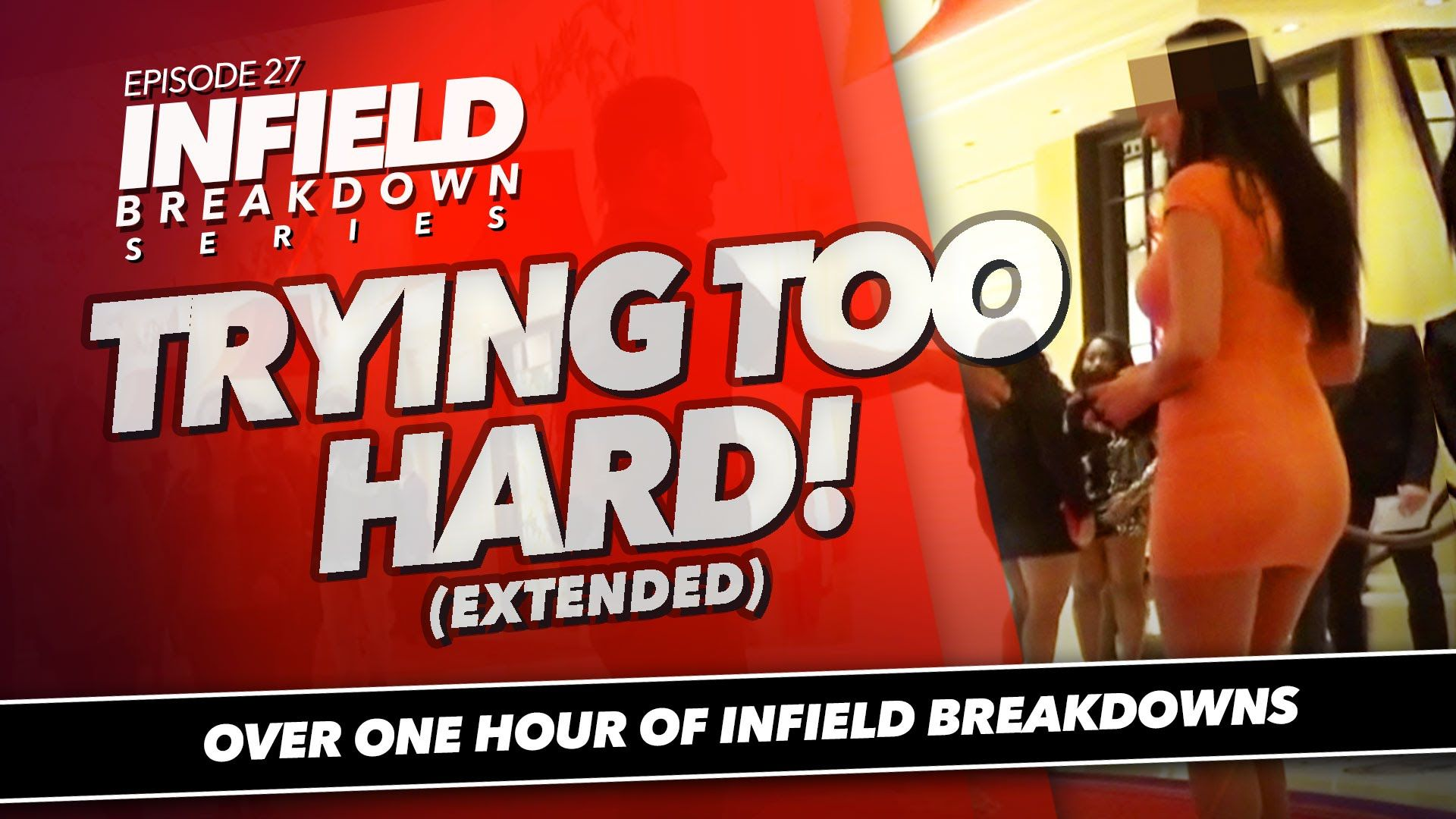 PUA Infield Pickup | Trying Too Hard! | ONE HOUR Full Breakdown | Infield Breakdown Series Ep. 27  More at http://youtu.be/MlDtdYzz4NI from https://www.youtube.com/user/RSDFrankHaro