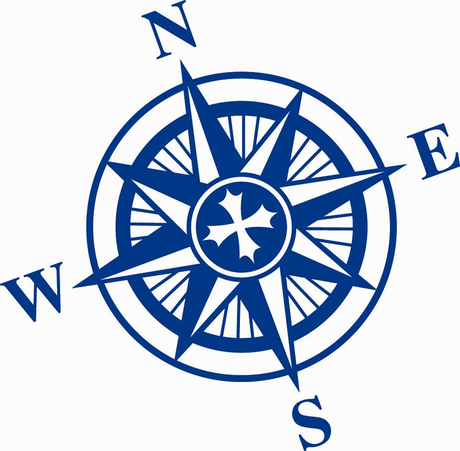 Compass blue. I would get this