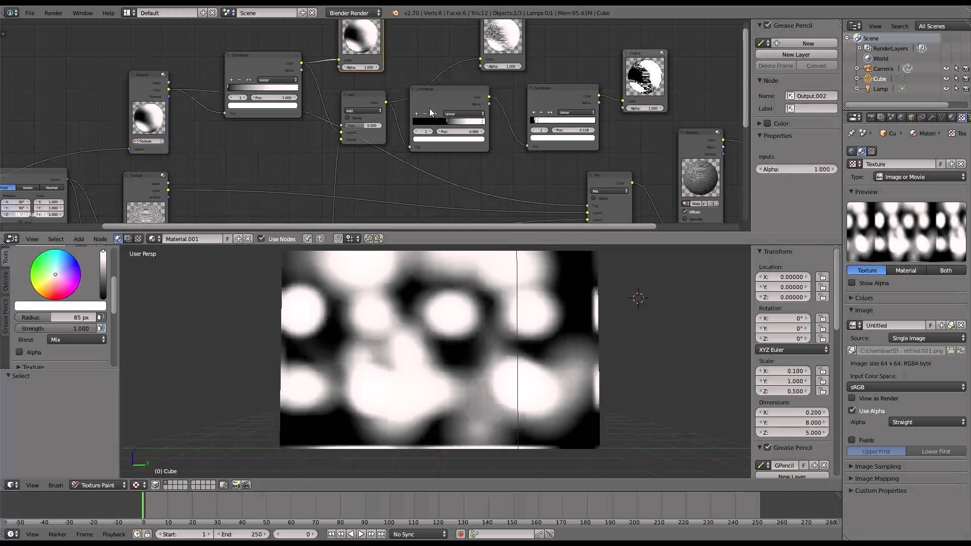 OGA Blender Tutorial Avoiding repetitivelooking textures