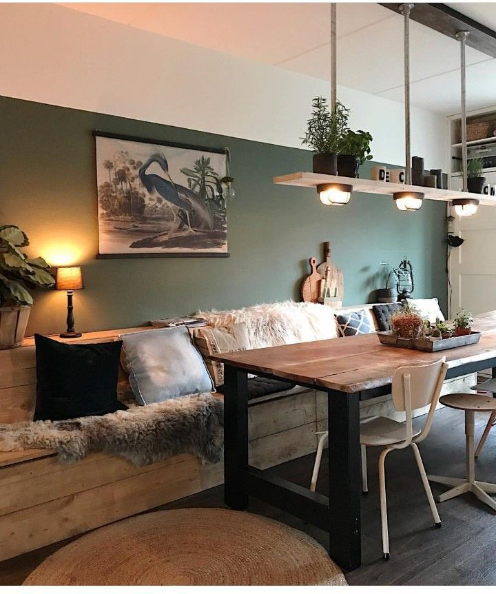 Photo of Comfy kitchen banquette  Haus