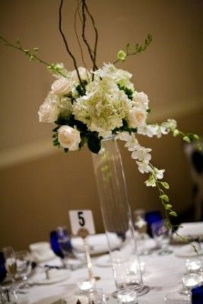 Large Flower Arrangements For Weddings Tall Silk Floral