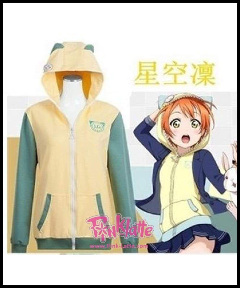 Nozomi Tojo Cosplay Costume Hoodie Jacket Coat LoveLive