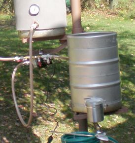 step infusion mash at 154° F (68° C) for 60 minutes. Primary fermentation for 14 days at 68° F (20° C).