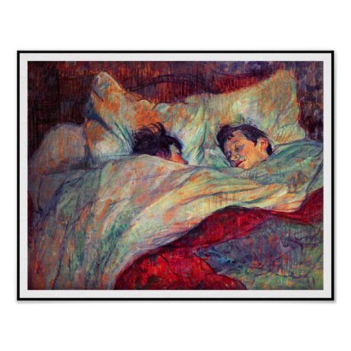 Toulouse Lautrec Couple In Bed Poster Zazzle Com Toulouse Lautrec Paintings Henri De Toulouse Lautrec Art