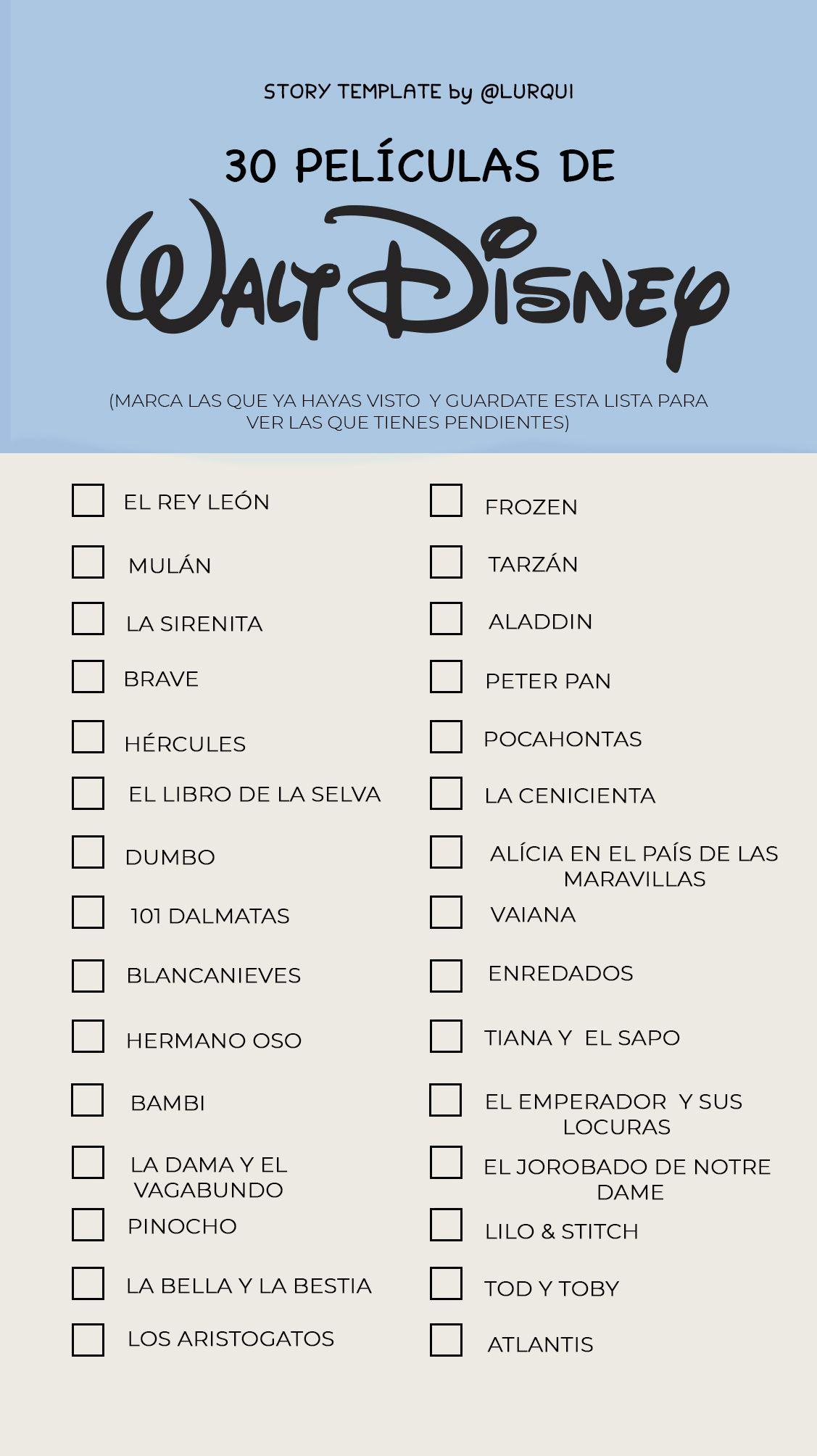 Plantillas | The checklist | Pinterest | Plantas, Retos y Disney