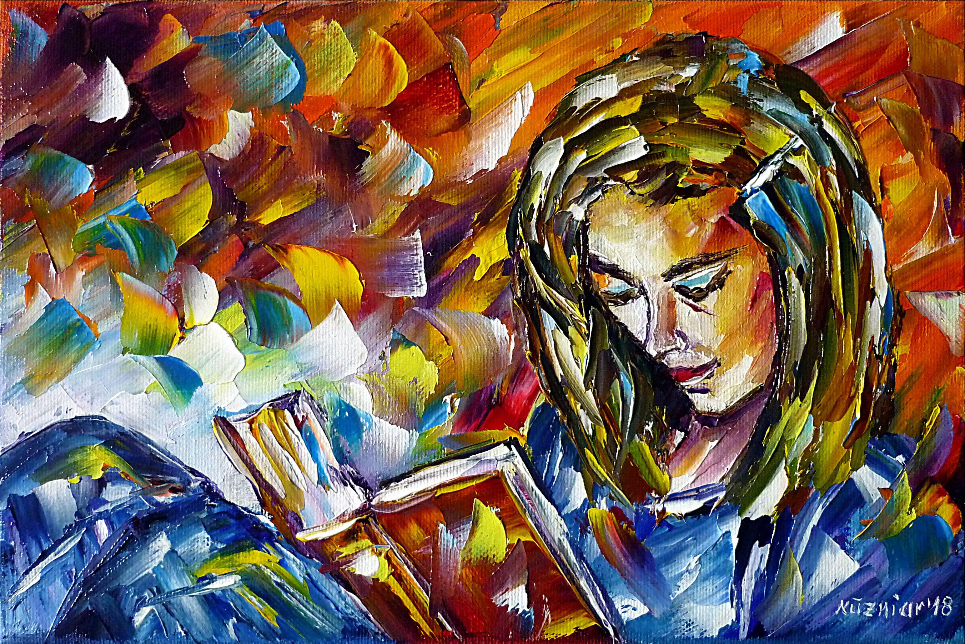 Lesendes Mädchen\