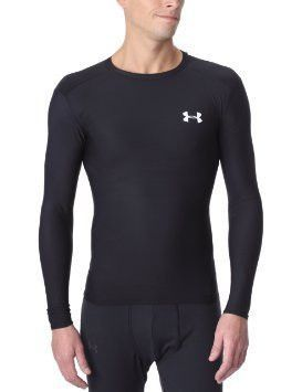 cb2f2290 Youth Black Under Armour Long Sleeve HeatGear | Products ...