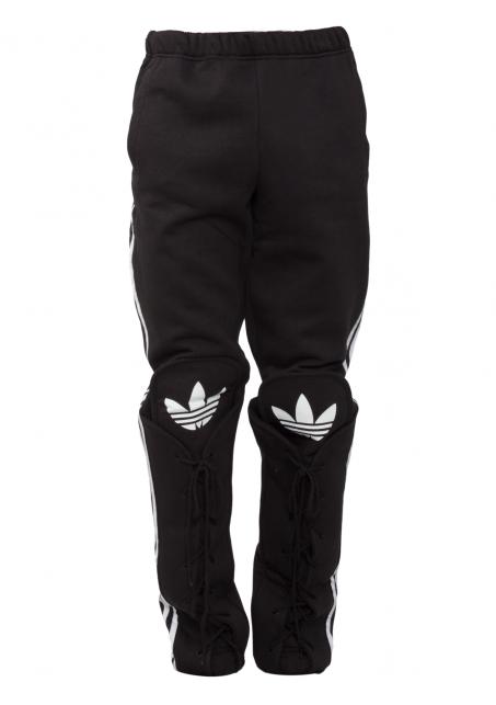 d6b7bbff Jeremy Scott for Adidas | Shoe Lace Track Pants Black | Hervia.com ...