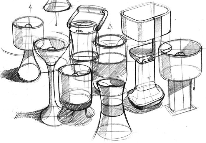 industrial design sketches. Product Design Sketching · Id Industrial Sketches K