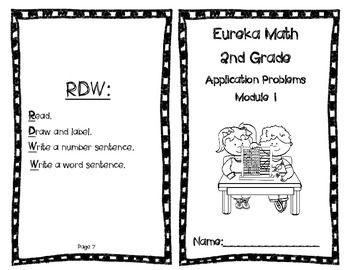 Eureka Math Grade 2 Module 1 Application Problems in a