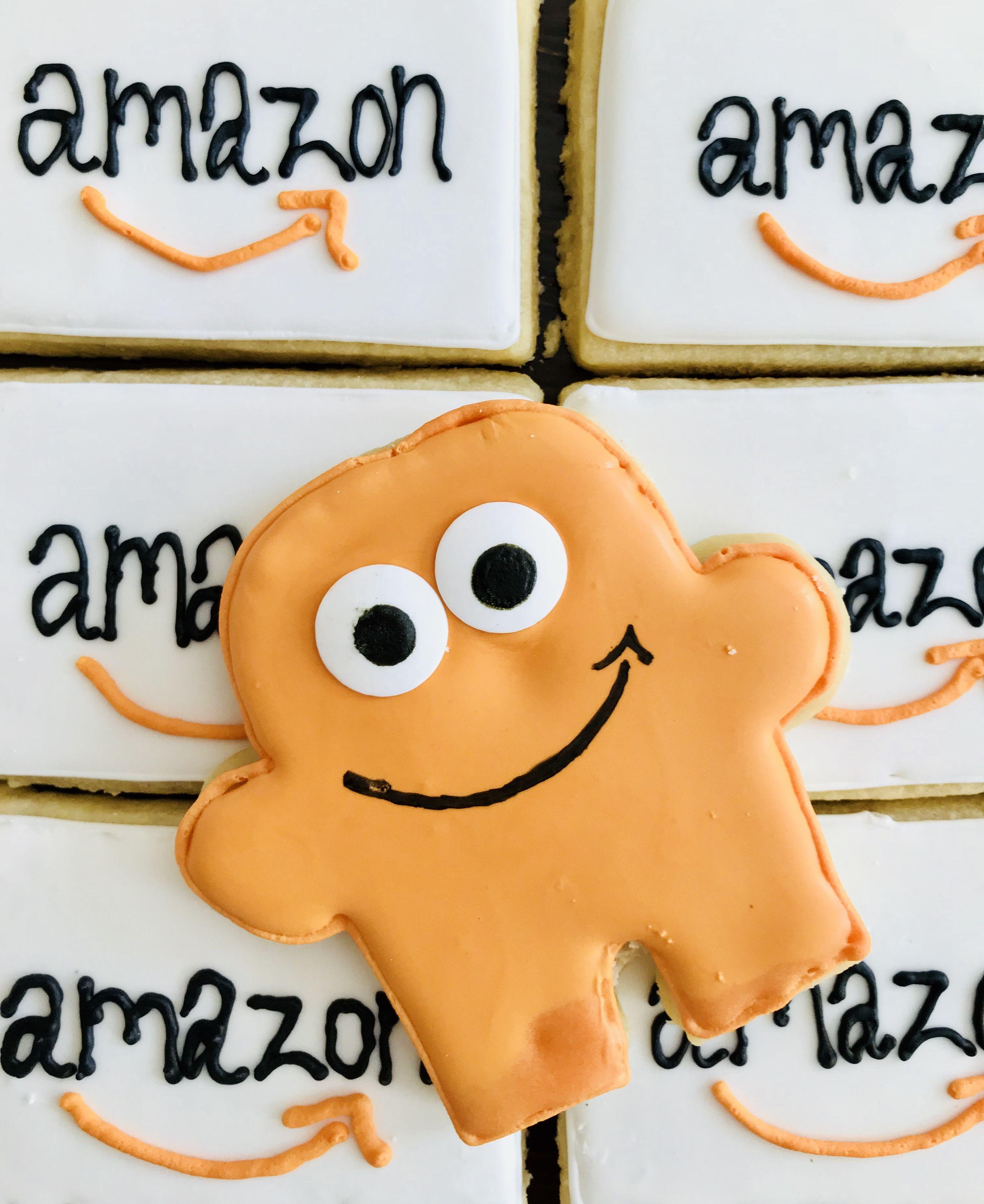 Amazon's mascot, Peccy  Isn't he the cutest little sugar