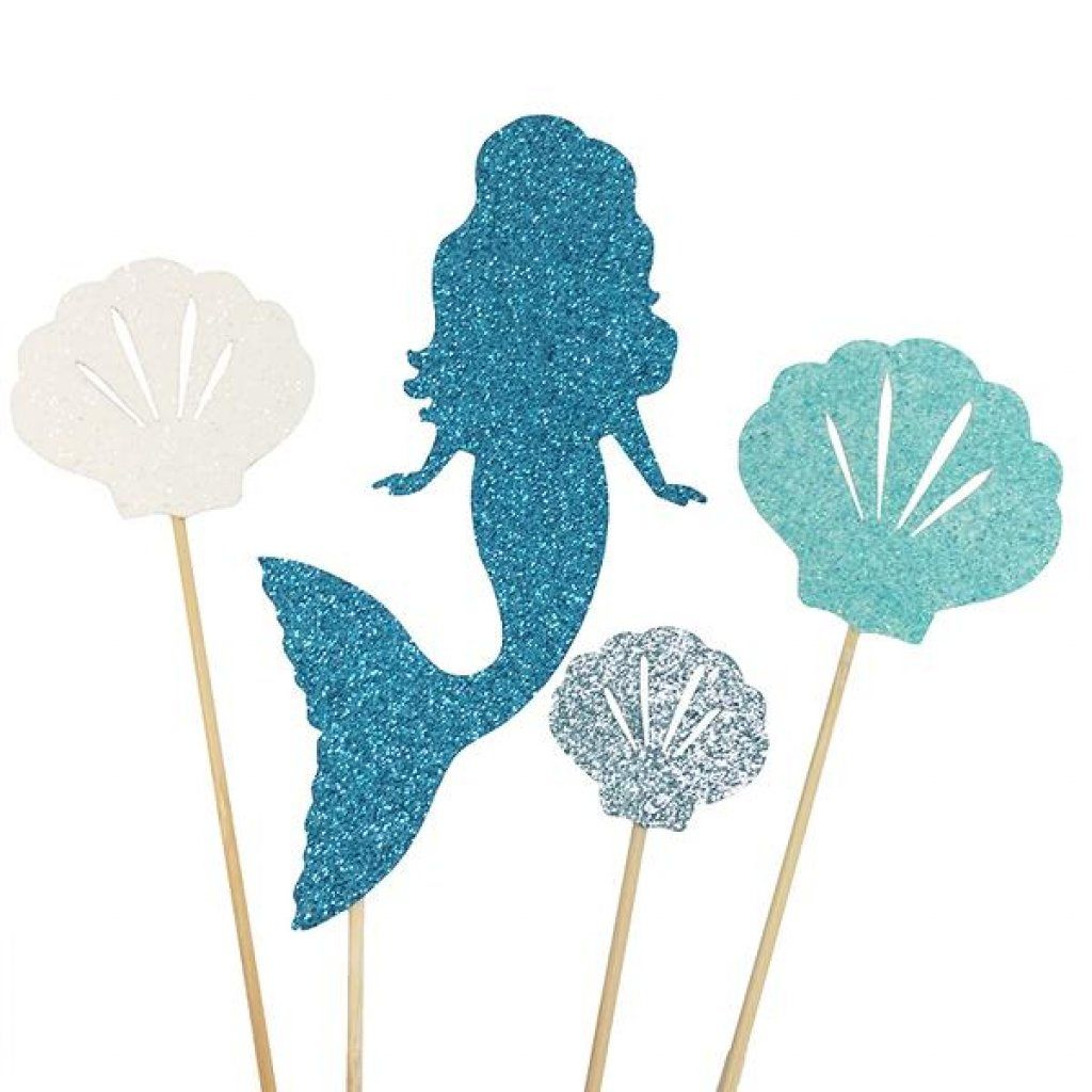 Cake topper mermaid cake decorating supplies online