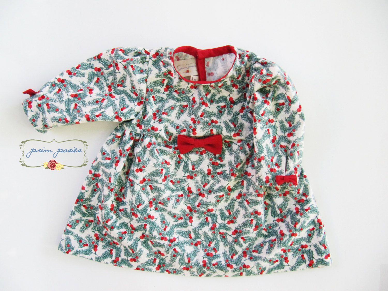 Baby Christmas Dress Baby Girl Dress Baby Dress Chrismas Baby