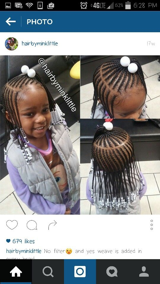Cute Braids With Images Lil Girl Hairstyles Little Girl Braid