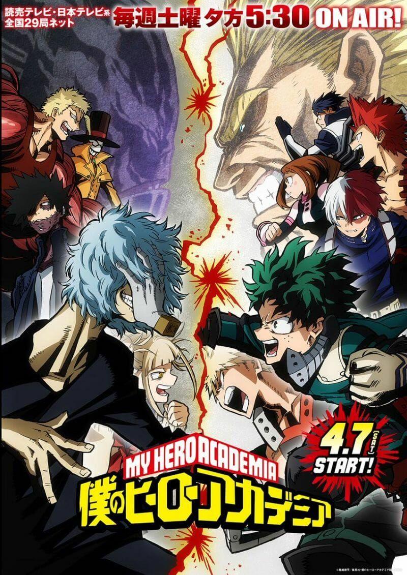 Boku No Hero Academia 3rd Season Poster Dowload Anime Wallpaper Hd