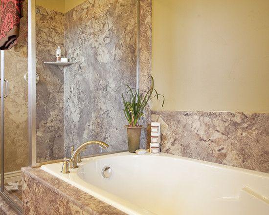 Tyvarian Shower Surround Shower Surround Cultured Marble Bathrooms Remodel