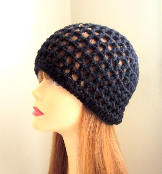 f9dc7e3be78 Crochet Hat Spring Summer Beanie Black Festival Hat Women Men Hair  Accessories Mother s Day Gift by