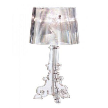 Bourgie Lampe  Poser Design Kartell Transparent