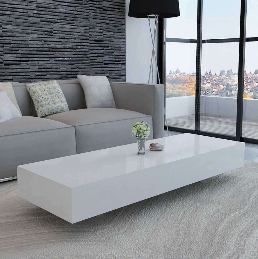 Undefined Modern Furniture Living Room White Coffee Table Modern Contemporary Living Room Furniture [ 890 x 887 Pixel ]