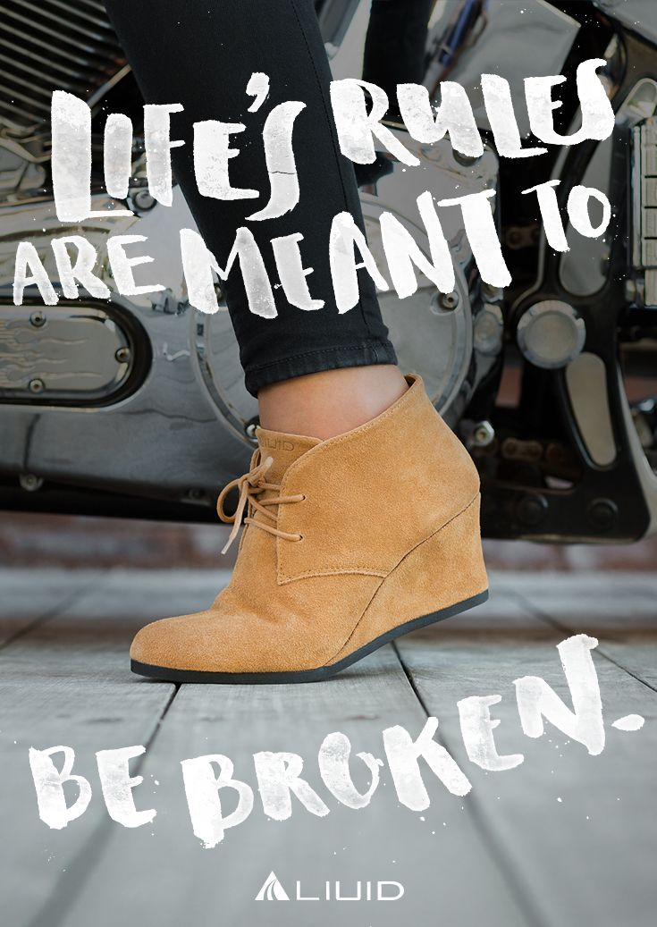 You don't just wear these, you rock them. After all, why walk when you can work? Break the rules with Nancy.