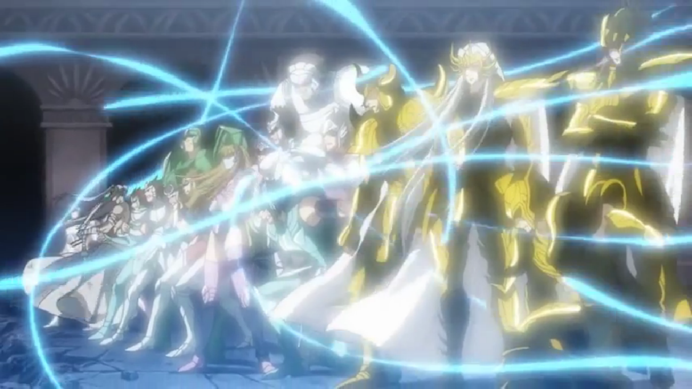 Cdz Lost Canvas 2 Temporada Awesome the lost canvas - episodio 26 | saint seiya the lost canvas