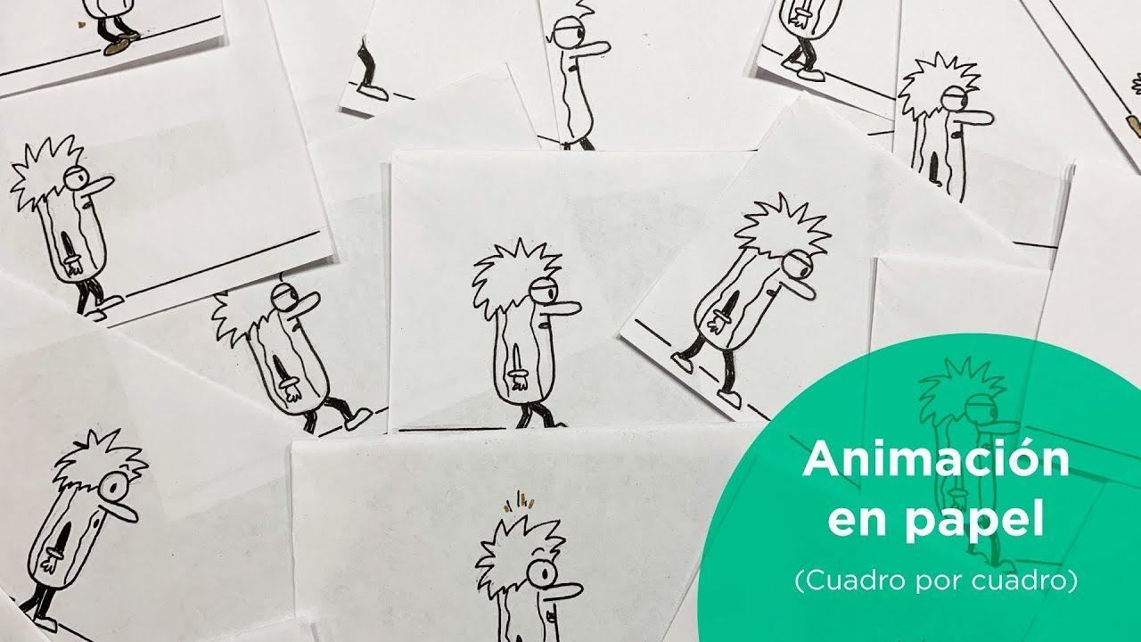 Como Hacer Animacion En Papel Cuadro Por Cuadro Por Pepinadas En 2020 Sobres De Papel Cuadros Como Hacer