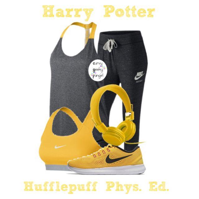 Harry Potter: Hufflepuff Phys. Ed. by curvygeekyfangirl