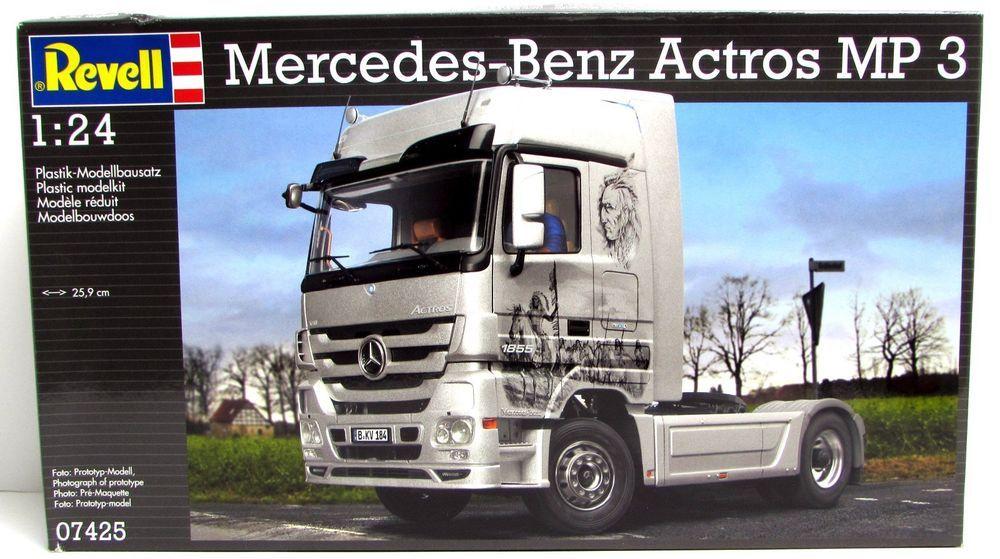Revell 07425 Mercedes-Benz Actros MP3 1//24