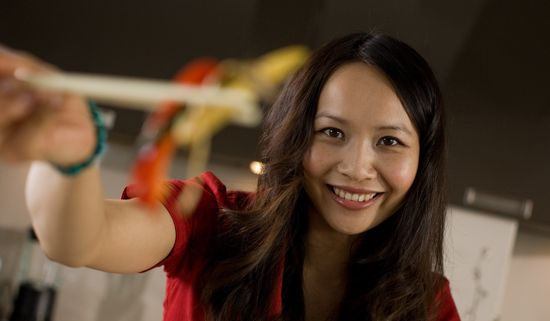 Glamorous young food entrepreneur Ching-He Huang is the ...